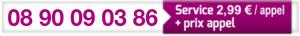 Numéro de téléphone Caf de la Vienne 08 90 09 03 86
